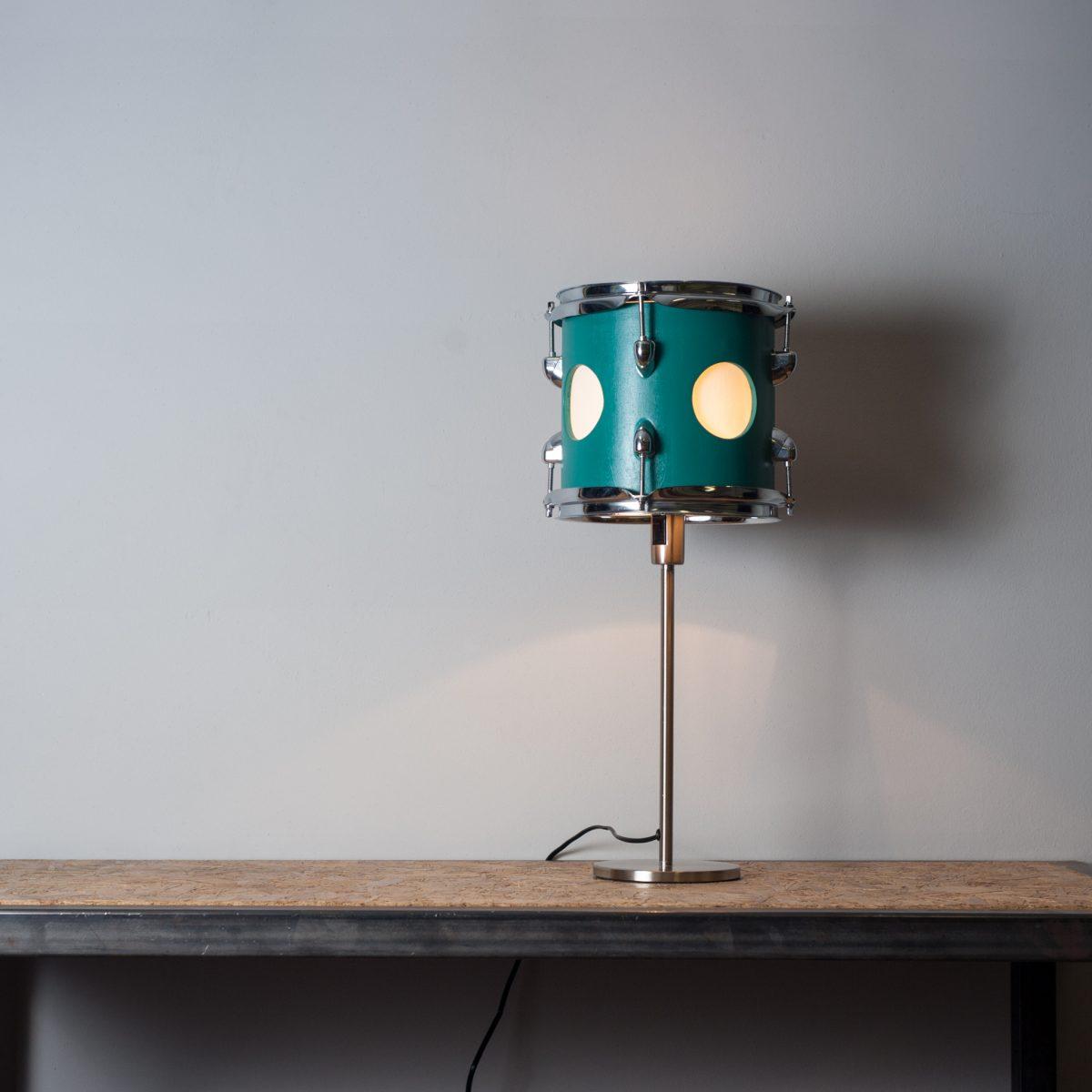 tom tafellamp turquoise