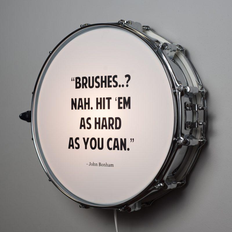 snare drum wall light quote berben design. Black Bedroom Furniture Sets. Home Design Ideas